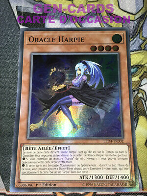 OCCASION Carte Yu Gi Oh ORACLE HARPIE LED4-FR002 1ère édition