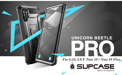 Galaxy Note 10+ Plus / Note 10 360 Case SUPCASE Unicorn Beetle Pro Holster