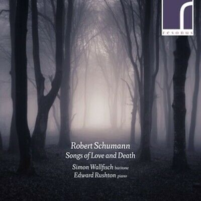 Songs of Love and Death - WALLFISCH SIMON/RUSHTON EDWARD [CD]