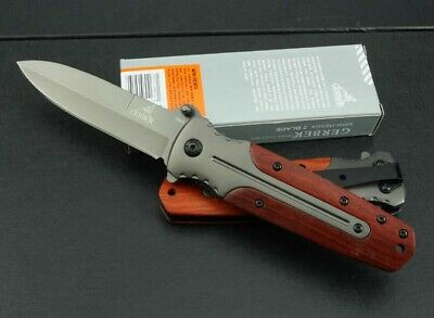 Assisted Opening Knife Pocket Folding Saber Survival Tactical Camping Fishing