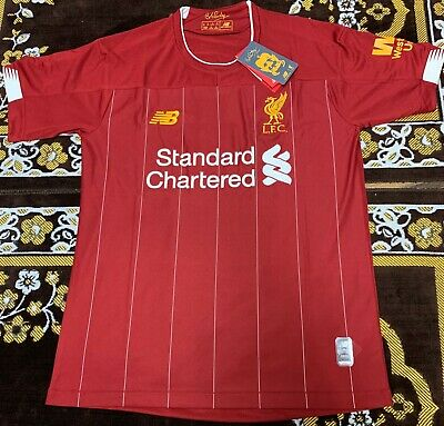 BNWT Genuine Liverpool Home Shirt 2019/20 Men's Football Shirt