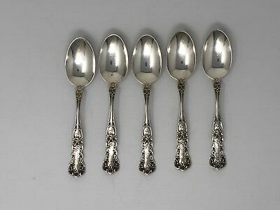 Gorham Buttercup Pattern Sterling Silver Spoon Engraved Antique Silverware