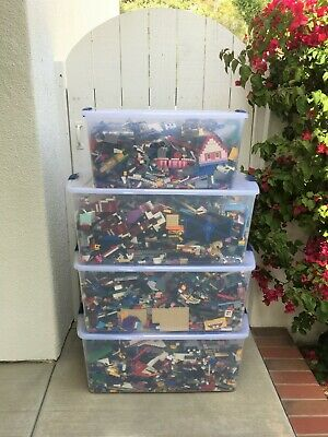 Huge! Lego Lot 180 lbs. Pounds of Bulk Bricks, Plates, Specialty Parts & Pieces