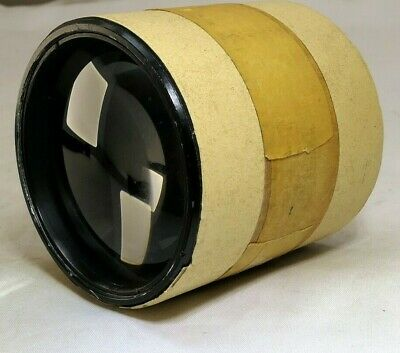 """10 inch f4.5 Bausch Lomb 6"""" Lens E.F. Projection vintage"""