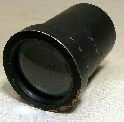 Projection Lens vintage - AS IS with haze needs cleaning
