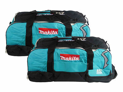 2 Pack Makita 831269-3 Large LXT Tool Bag With Wheels for Cordless 18V Tools