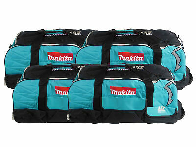 4 Pack Makita 831269-3 Large LXT Tool Bag With Wheels for Cordless 18V Tools