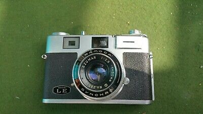 Samoca LE 35mm Film Camera, Rangefinder, lightmeter, with case