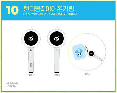 TWICE POPUP STORE Twaii's SHOP SEOUL OFFICIAL GOODS CANDYBONG Z EARPHONE KEYRING