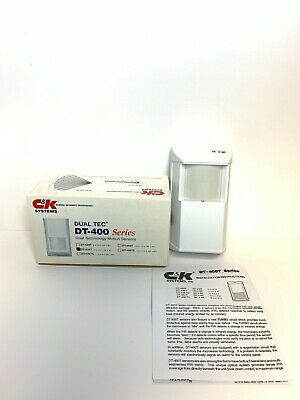 C&K SYSTEMS DUAL Tec DT-500 Series Animal Immune Dual Tech