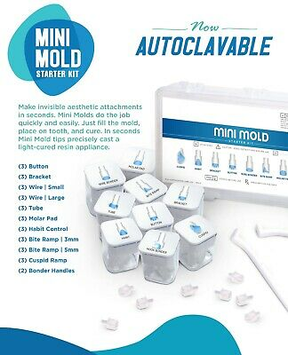 Orthodontic Mini Mold Starter Kit -** NEW Now  Autoclavable **