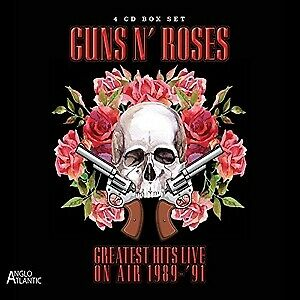 Greatest Hits Live-In Concert On Air 1989-1991 - GUNS N' ROSES [4x CD]