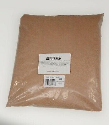 Reptile Sand Red - 5kg - Bedding - Lizard - Gecko - Dragon -  Vivarium Sand