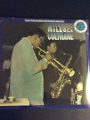 Miles Davis John Coltrane , Miles & Coltrane , Sealed USA LP 1988 Columbia
