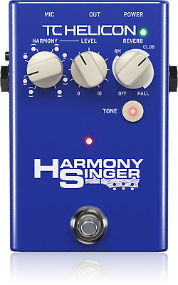 Harmony Singer 2 Battery-Powered Vocal Effects Stompbox + Warranty