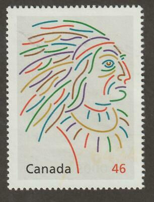 CANADA 2000 Millennium collection #1826a Canada's First Peoples (Pontiac) - U
