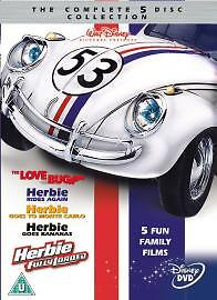 Herbie - The Complete Film / Movie Collection 5 Dvd New