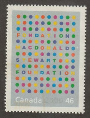 CANADA 2000 Millennium collection #1830d –13 Generosity (Macd. Stew. Foundation)
