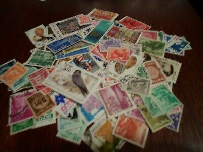 Collection lot 110 different stamps of Israel