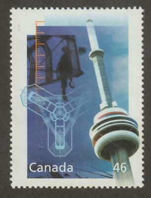 CANADA 2000 Millennium collection #1831d – 14 Engineering & Tech. CN Tower) Used