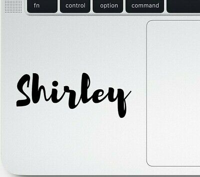 STICKY NAME: Personalised name decal sticker - laptop/bottle/car/phone/suitcase