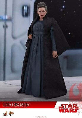HOT TOYS MMS459 Star Wars The Last Jedi Leia Organa Carrie Fisher 1/6 Figure