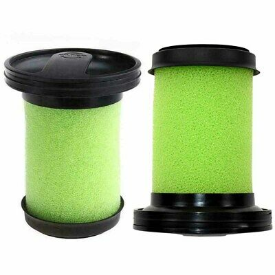 2X Washable Foam Filters for Gtech Multi MK-2-ATF006 For Gtech Multi MK2 Graeen