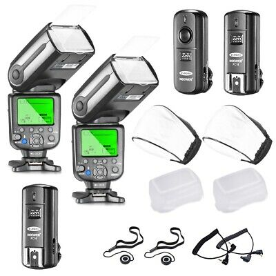 Neewer NW565EX E-TTL Slave Flash Speedlite Kit for Canon + 2.4G Wireless Trigger