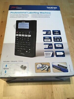 Label Machine Brother P Touch H300 Professional Labelling RRP £145