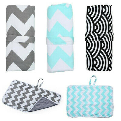 Foldable Waterproof Baby Diaper Changing Mat Travel Home Change Pad Portable AU