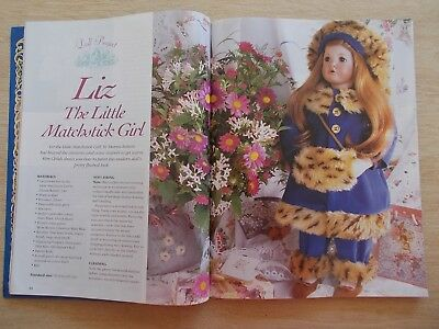 ADB&C Vol 6 #4~Doll & Bear Patterns~Daisy Garland~Matchstick Girl~Basil~Goblin