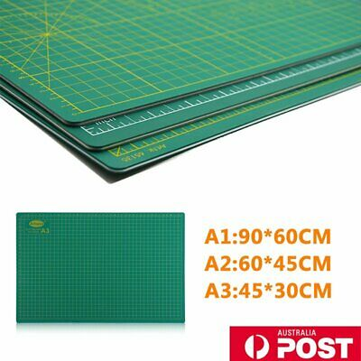 A1 A2 A3 PVC Self Healing Cutting Mat Craft Quilting Grid Lines Printed OL