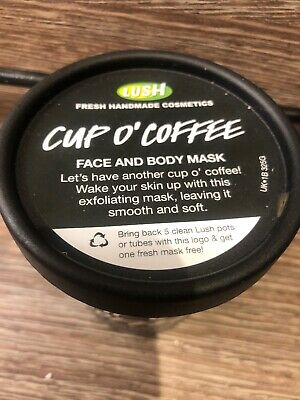 LUSH Cup O' Coffee Face & Body Mask