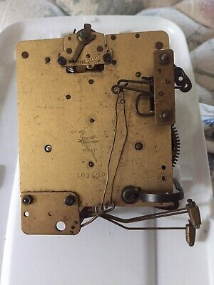 Antique Clock Movement Parts Or Restoration