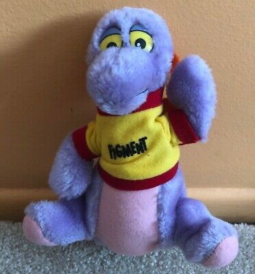 "Vintage Walt Disney World Epcot Center FIGMENT Plush 7"" Journey Imagination 1982"