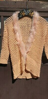 1950s Wool Knitted Bed Jacket