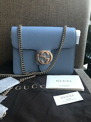 36c3218d AUTHENTIC NWT GUCCI Marmont Top Handle Bag LIMITED Black Medium ...