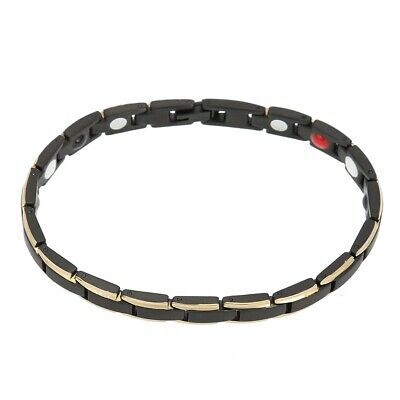 Fashionable Women's Magnetic Therapy Bracelet  Pain Relief Titanium Steel Bangle