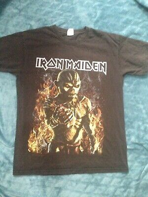 Iron Maiden M Rare The Book Of Souls World Tour 2017 UK. O2 London Event T Shirt
