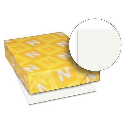 Wausau Neenah Index Card Stock Copy Paper 110 lb Letter White 500 Sheets