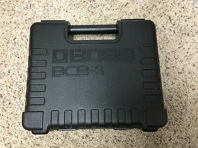 Boss BCB-3 Pedalboard/ 3 Pedal Carrying Case, Pedal Board MIJ 1990s