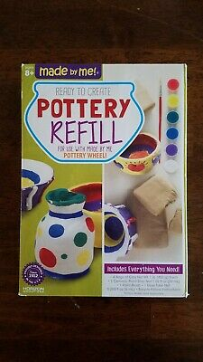 Made By Me Pottery Refill