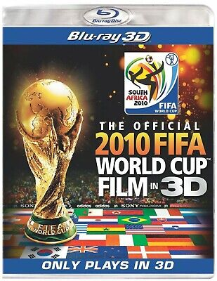Official 2010 FIFA World Cup Film in 3D Blu-Ray Promo (UK Region A/B/C) 3D Only