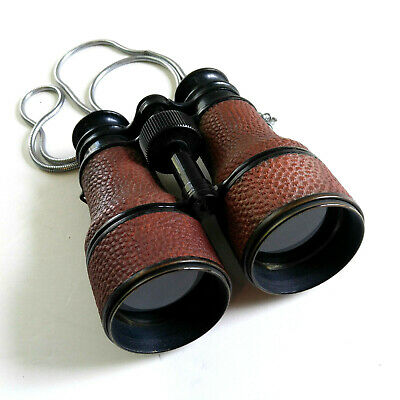 WWII US NAVY 21597 Binoculars 66th Infantry Panther Division Vintage