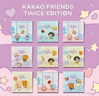 Twice Kakao Friends Twice Edition Official Goods Pin Badge Set New