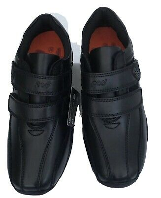 Pod /'Graham/' Boys School shoe in Black Leather ONLY £29.90