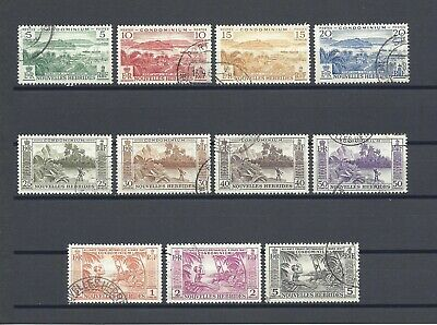 NEW HEBRIDES 1957 SG F96/106 USED Cat £75