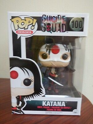Funko Pop! Heroes #100 DC Katana from Suicide Squad (Vaulted)
