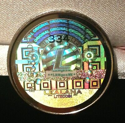 Unfunded/no loaded value- LEALANA 2013 lite coin 1 LTC - like bit coin CASASCIUS