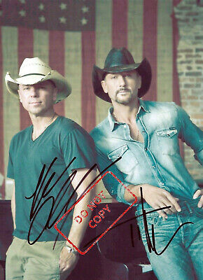 AUTOGRAPHED PICTURE SIGNED 8X10 PHOTO REPRINT 2 TIM MCGRAW